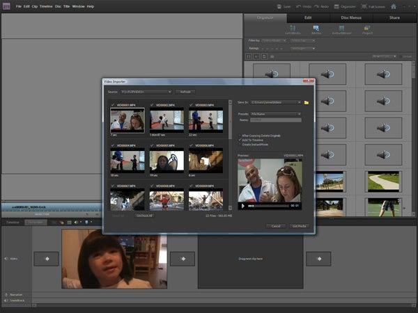 Обзор Adobe Premiere Elements 9