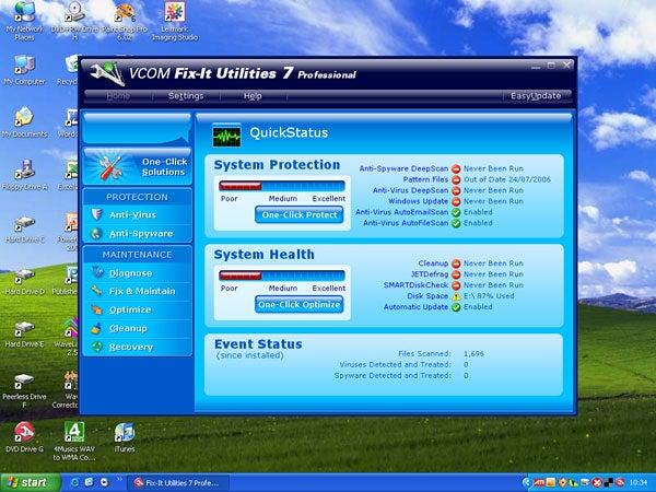 VCom Fix-It Utilities 7 Профессиональный обзор