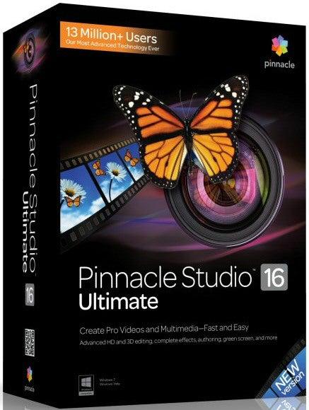 Обзор Pinnacle Studio 16 Ultimate