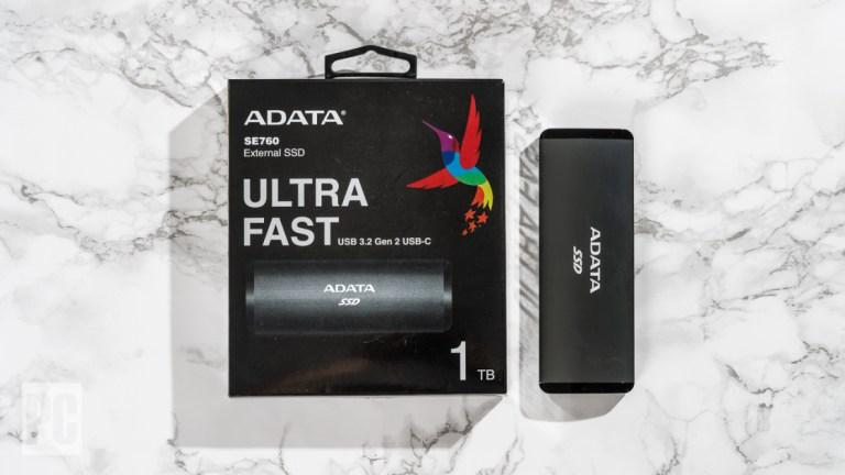 ADATA SE760 Ultra Fast Обзор