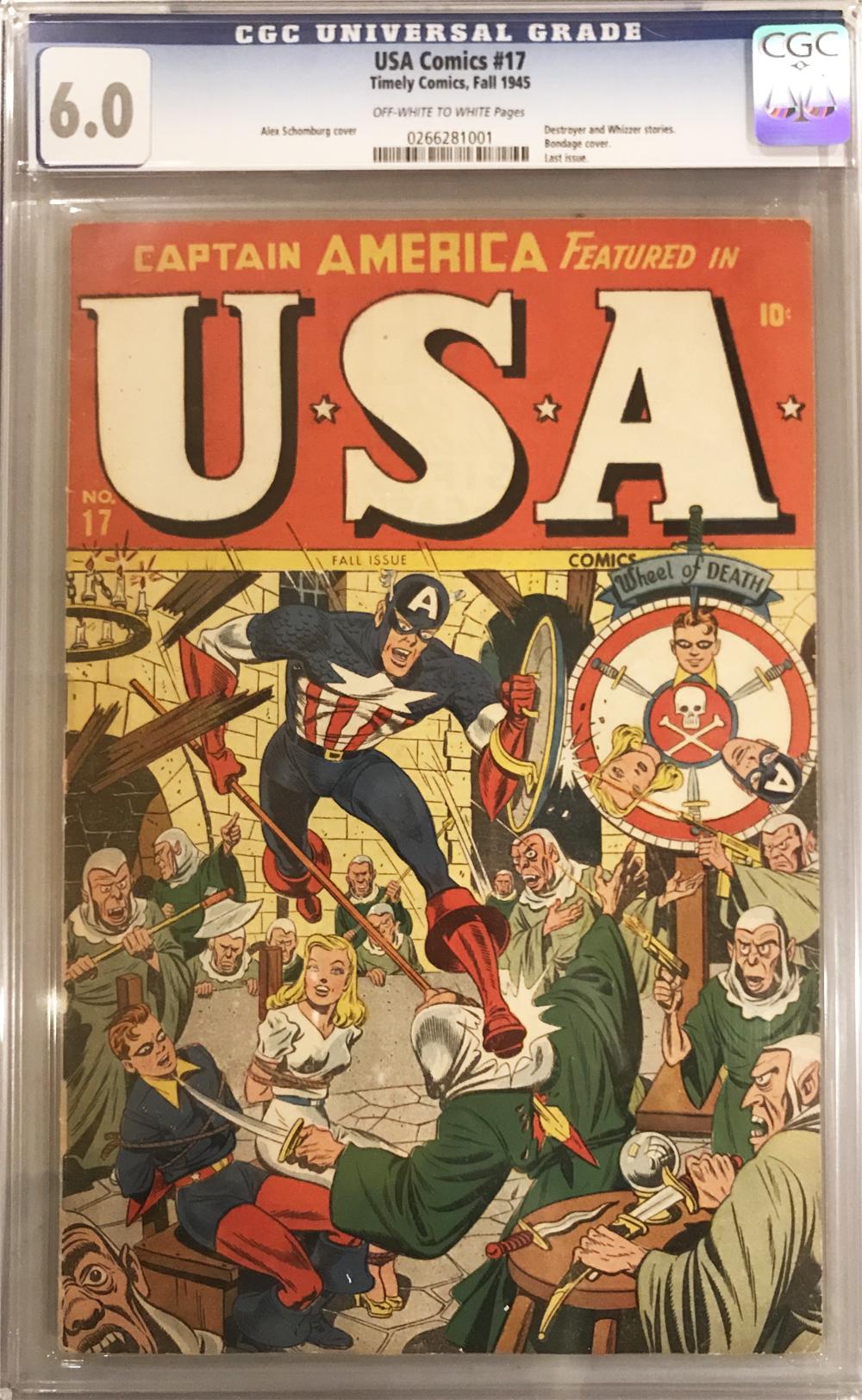 U.S.A Comics ...