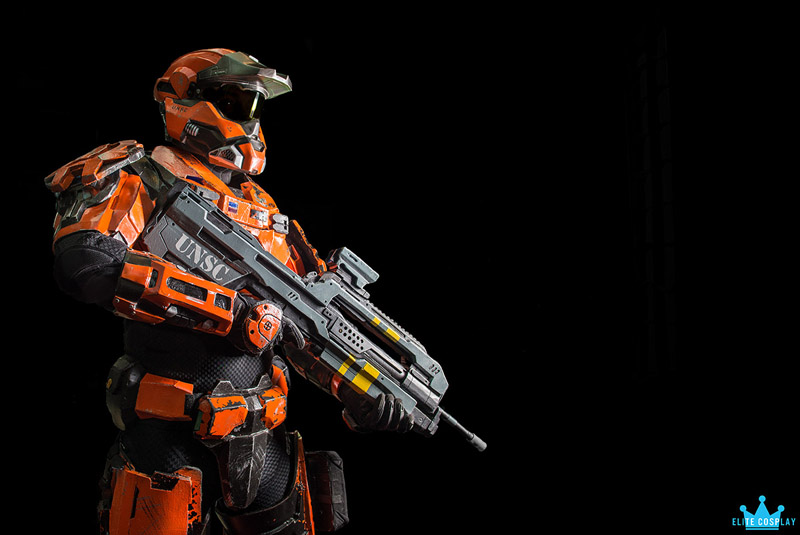 Halo Spartan Taken at Wizard World Portland Comic Con