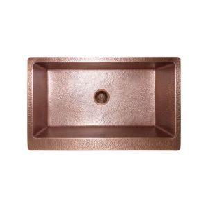 Double Bowl Farmhouse Copper