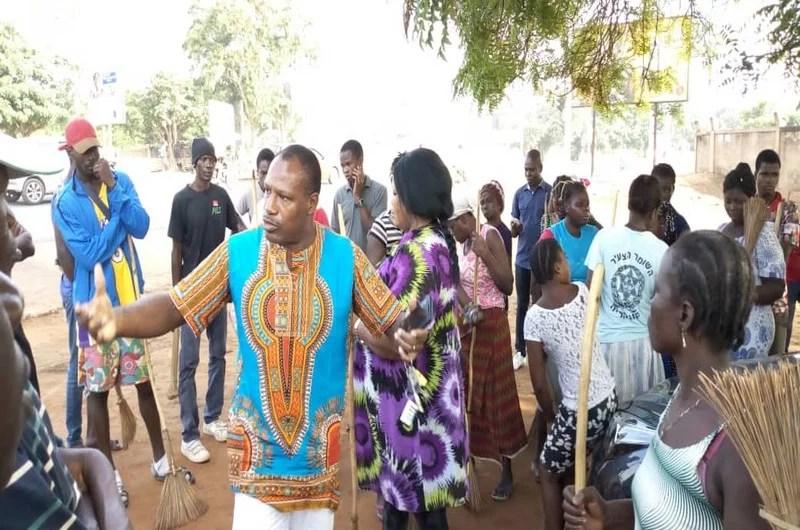 M. Sylvestre Assiah s'adresse aux militants