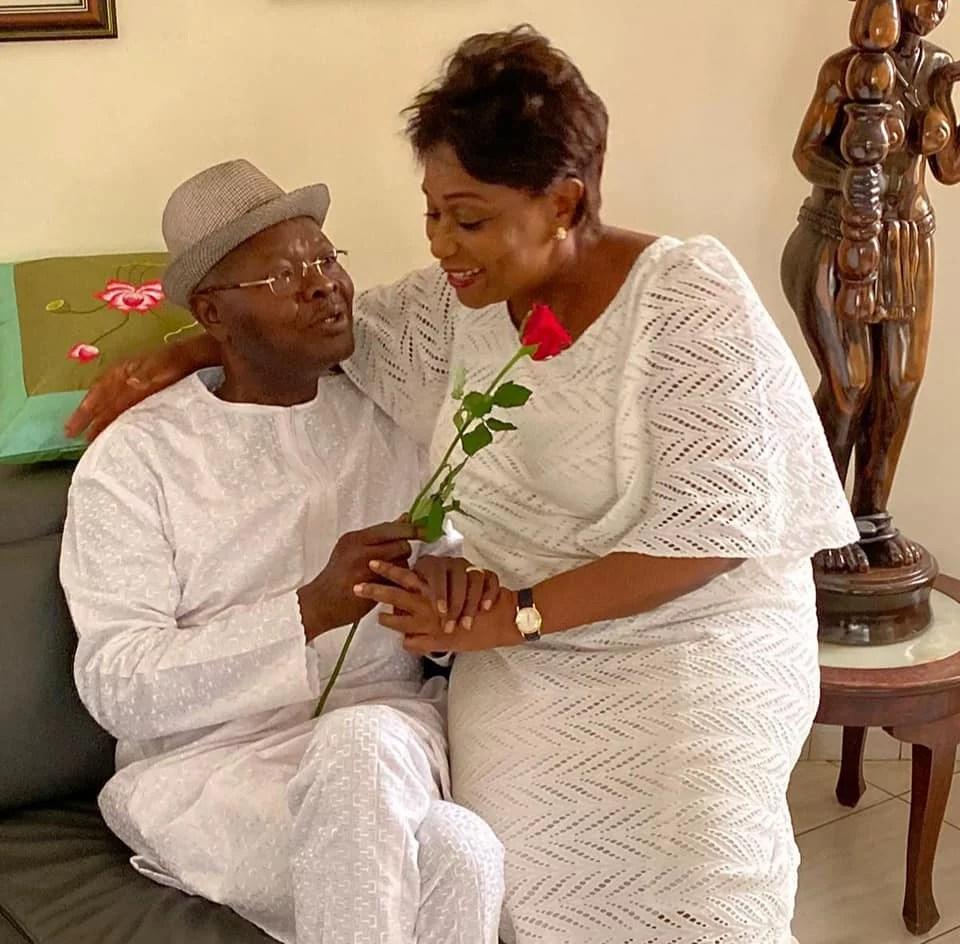 Agbeyomé et sa femme