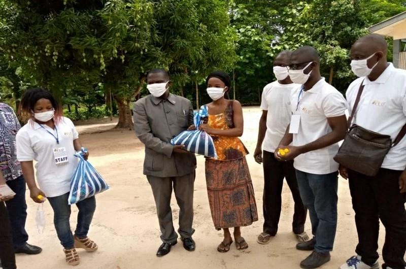 VED a distribué plus de 100 kits aux personnes vulnérables de Kpélé