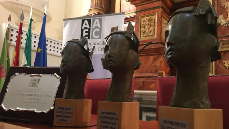 Anunciados los Premios Andalucía de la Crítica