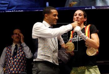 """La andaluza Jennifer """"Tormenta"""" Miranda retiene el título nacional pluma de boxeo"""