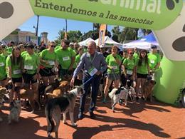 La quinta edición de la Málaga Dog Party reúne a unos 15.000 asistentes