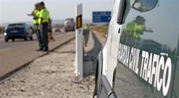 Dos muertos en accidentes mortales registrados en las carreteras de Andalucía este fin de semana