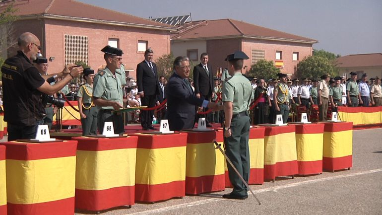 """PSOE ve una """"inaceptable falta de respeto"""" la ausencia de la Junta en la entrega de diplomas de la Guardia Civil"""