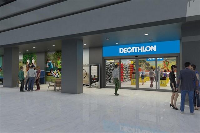 Decathlon abre su primera  gran tienda en el centro de Sevilla.