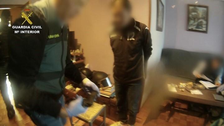 Desarticulada una organización de traficantes de droga con detenidos en Jaén, Sevilla y Málaga