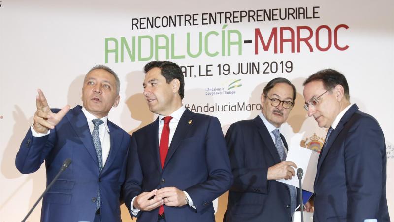 Moreno anuncia ayudas para asesorar a empresas que quieran instalarse en el norte de África
