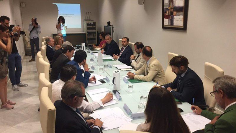 La Junta constituye el grupo de trabajo del proyecto de la Ciudad de la Justicia