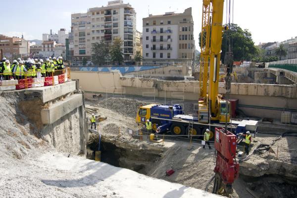 """La Junta trasladará los restos arqueológicos """"más representativos"""" hallados en obras del metro"""