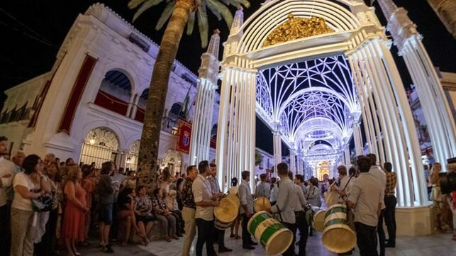 Presentan moción en Almonte para declarar de Interés Turístico Andaluz traslado de la Virgen y saca de yeguas