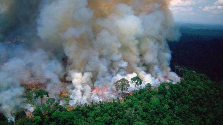 Una indígena brasileña que anticipó al parlamento los graves incendios en la Amazonia