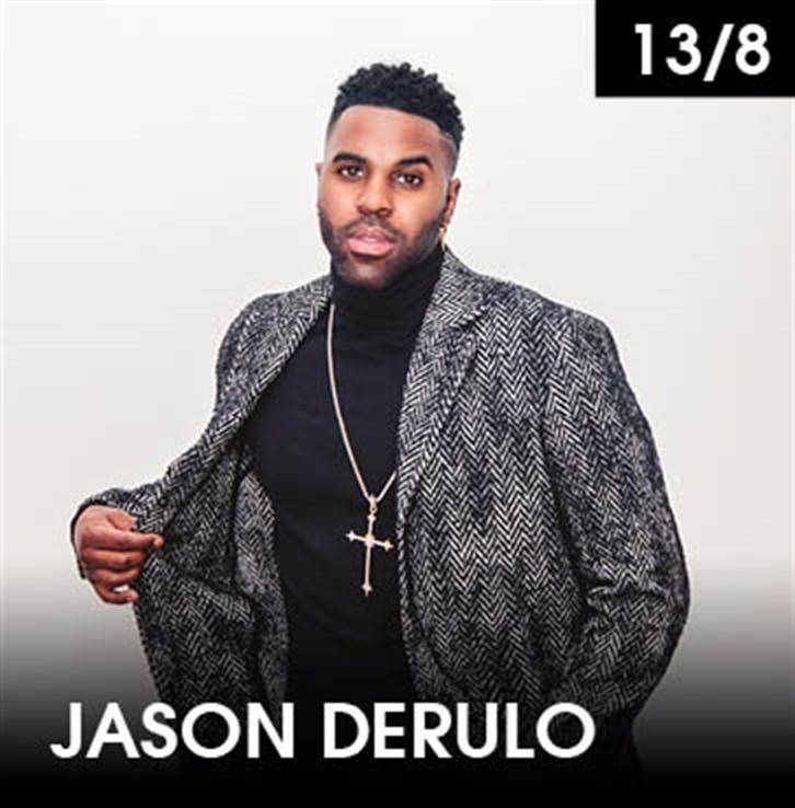 Jason Derulo regresa este martes a Starlite Marbella