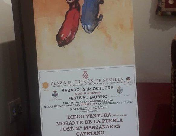 Hermandades Esperanza Triana y Baratillo presentan cartel festival taurino