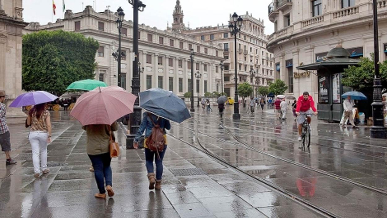 Temperaturas frías y posibilidad de lluvias desde hoy hasta el domingo en Sevilla