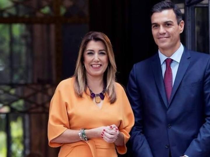 Susana Díaz responde a Arrimadas que apoye la investidura de Sánchez