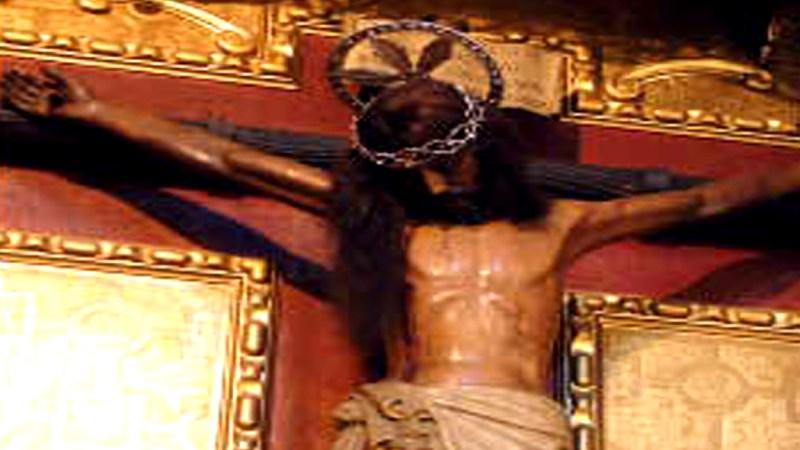 El milagroso crucifijo de San Agustín