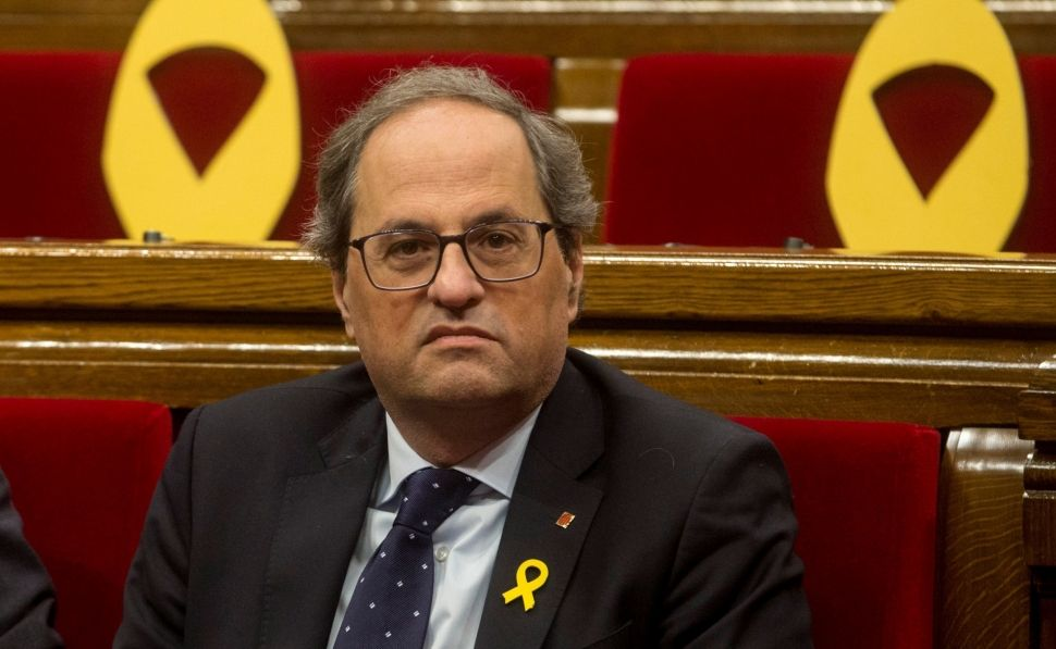 Torra insiste en celebrar un referendum de autodeterminación esta misma legislatura