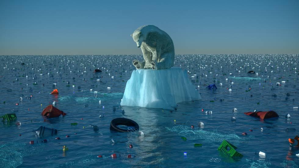 El cambio climático subirá un metro el nivel del mar Mediterráneo en 2100.