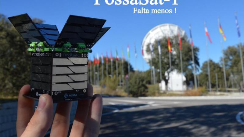 Un joven linense lanza al espacio el tercer satélite más pequeño del mundo