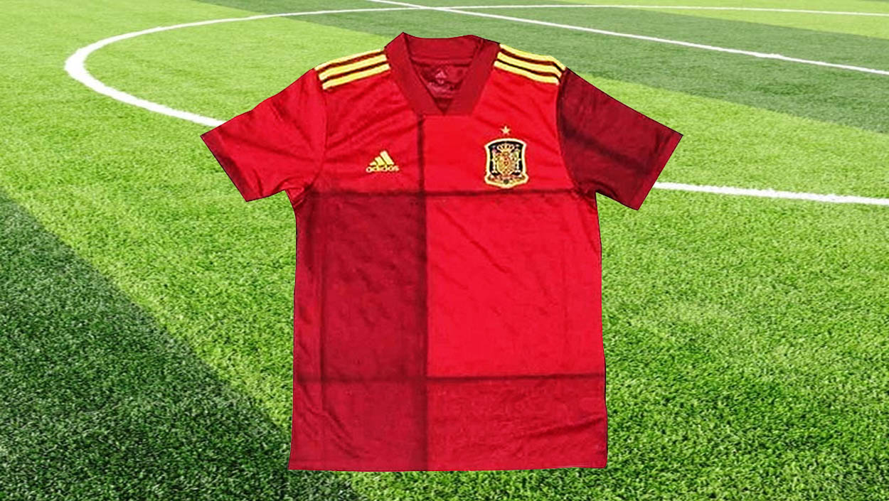 La nueva camiseta de la selección española 'no gusta' y genera polémica