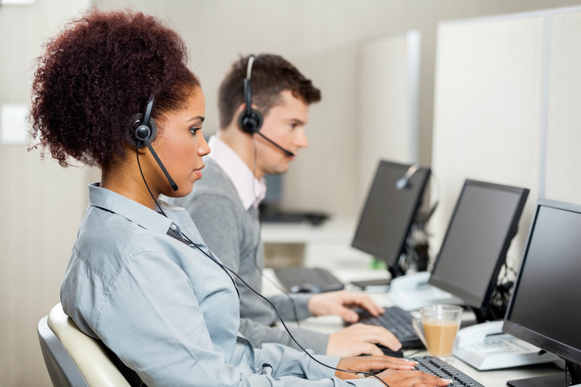 Reconocido a los trabajadores de 'contact center' a parar cinco minutos por cada hora