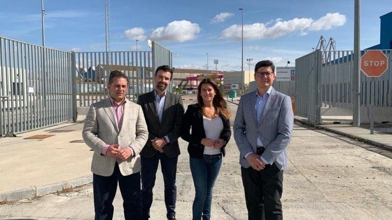 """Cs critica la """"pésima gestión"""" de Monteseirín en la Zona Franca y promete """"desbloquear"""" el proyecto"""