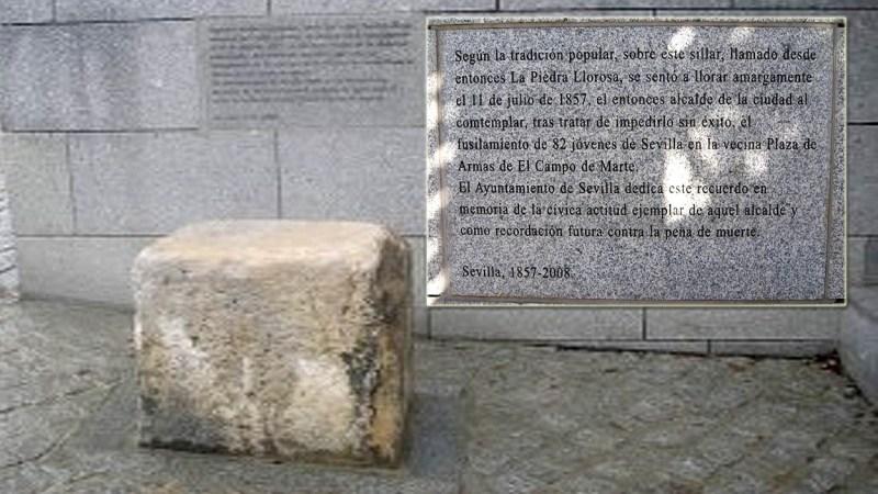 Los lamentos de un alcalde y la 'piedra llorosa' de Sevilla