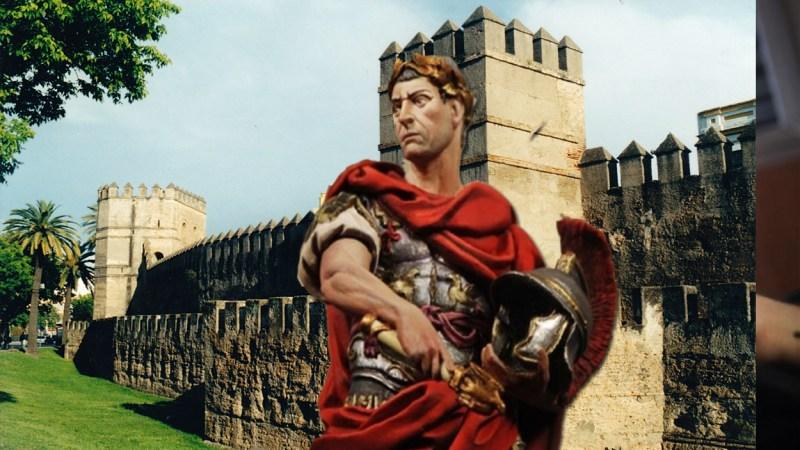 La leyenda de los trabajos de Julio César en Sevilla