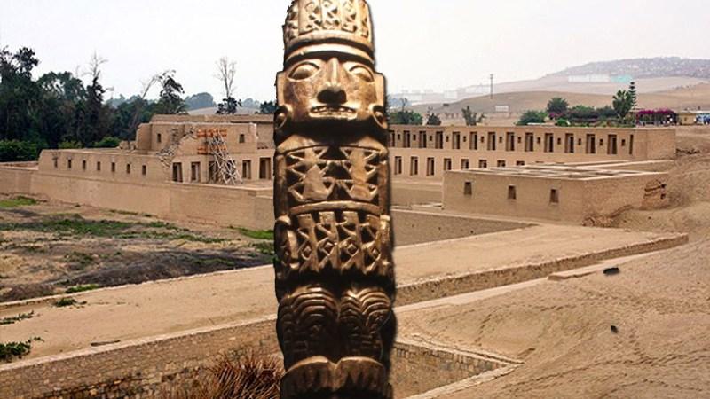 El ídolo precolombino de Pachacamac no habría sido destruido por Pizarro