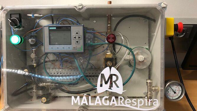 Últimas pruebas del respirador andaluz para pedir la aprobación de Sanidad