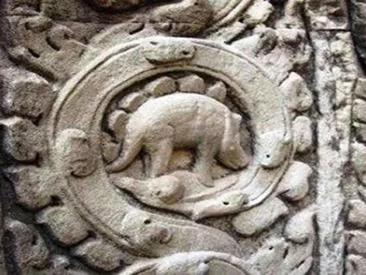 El estegosaurio de Angkor