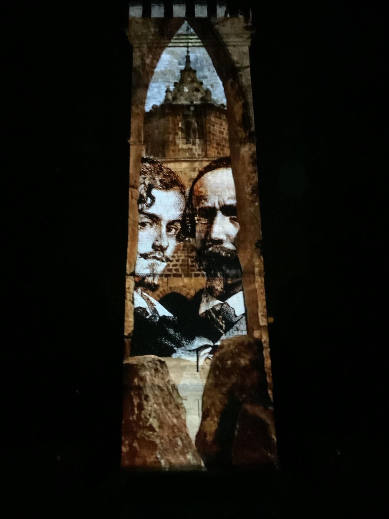 Llega a la Torre de Don Fadrique el vídeo mapping que recrea el universo  Bécquer