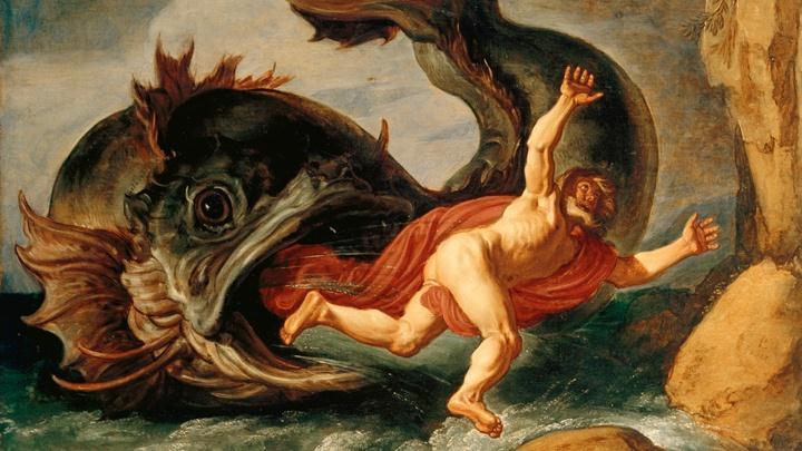 ¿Jonás y la ballena o un OVNI?