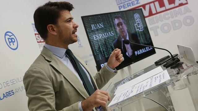 El PP exige a Espadas explicaciones por  contrataciones de militantes del PSOE en el Ayuntamiento