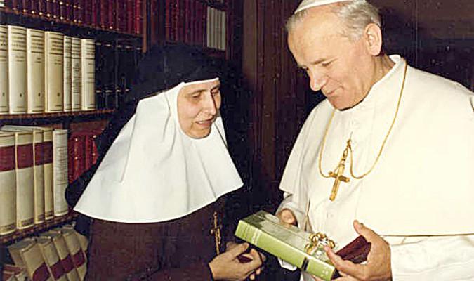 Milagrosas sanaciones y la madre María de la Purísima