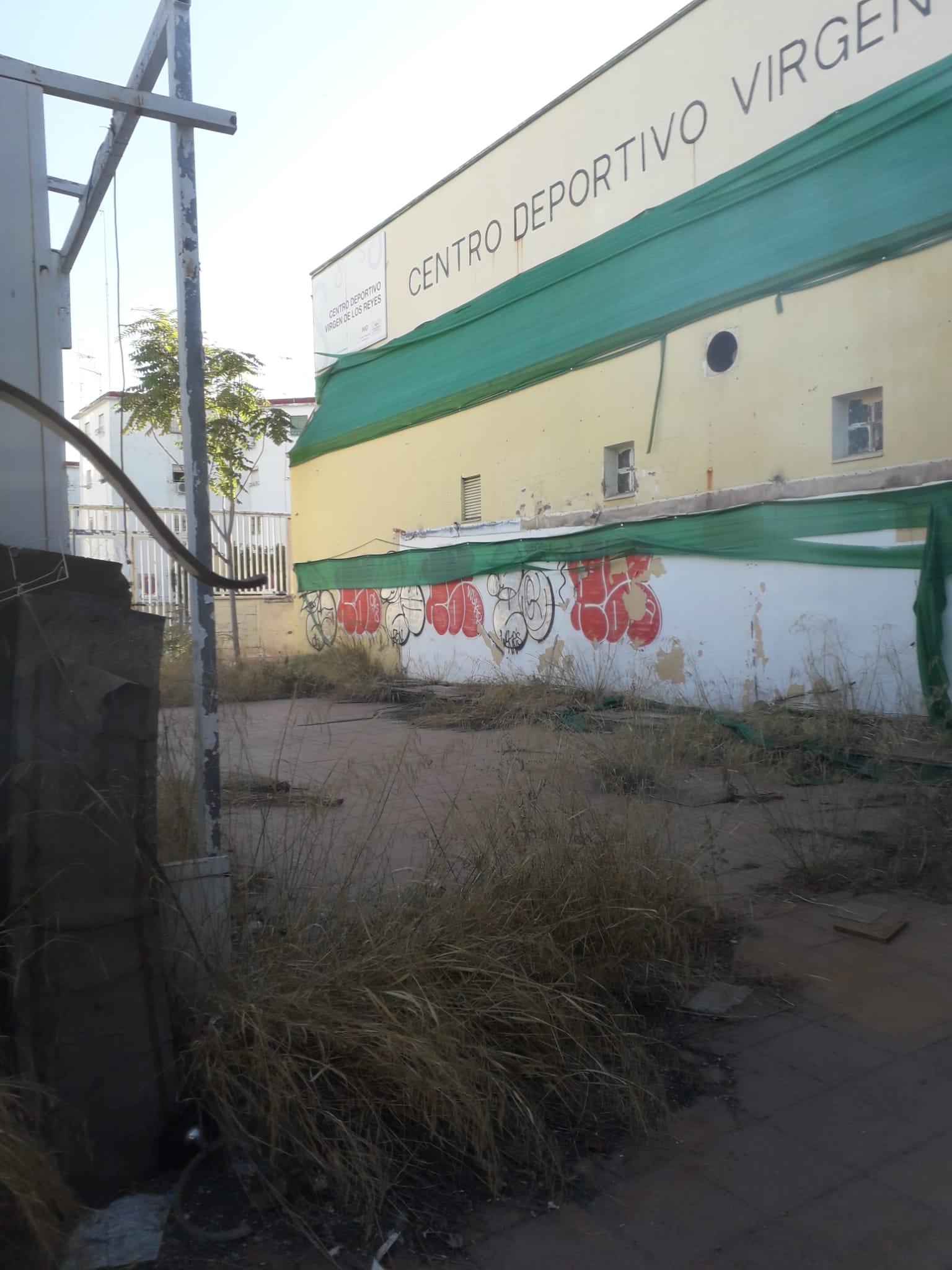 El PP denuncia el retraso en la construcción del Centro Deportivo Virgen de Los Reyes