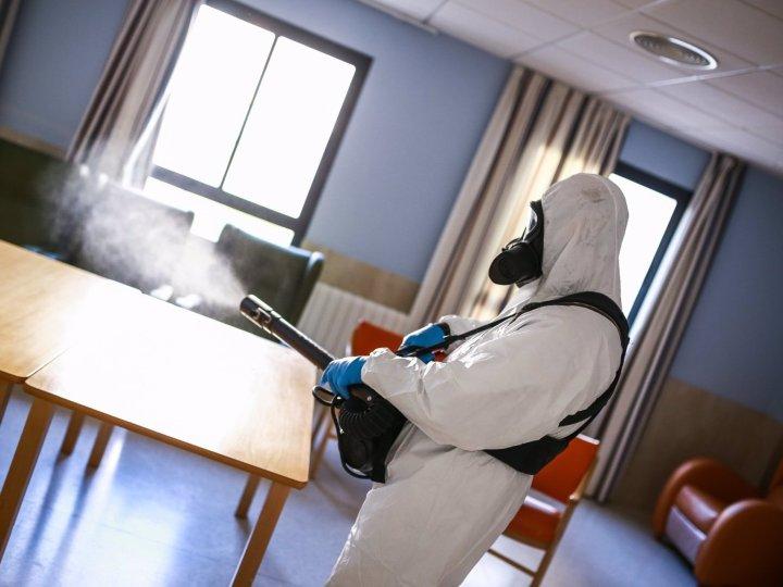 Desinfectan de forma integral este fin de semana residencias de mayores de San Fernando