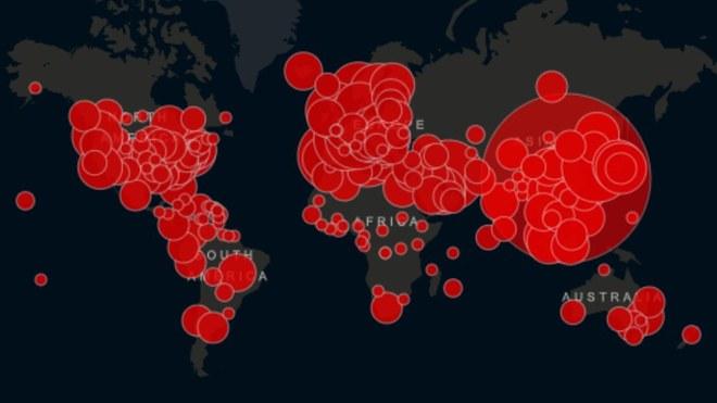 CORONAVIRUS: Lista de países más afectados
