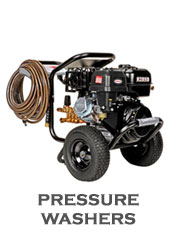 We Sell and Service Pressure Washers!