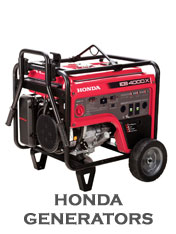 We Sell and Service Honda Generators!