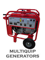 We Sell and Service Multiquip Generators!