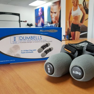 Healthstream_soft_dumbell_with_strap_to hold_).5kg_each_sold_in_pairs_resistance_training_dancing_rehabilitation_weight_strength_in_stock_buy_Elite_Fitness_Equipment_Perth_Melbourne_Sydney_Australia