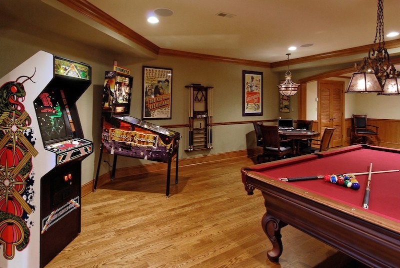 Some games are timeless for a reason. Game Room Planning | Elite Home Gamerooms